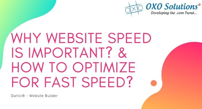 Why Website SPeed is Important? & How to optimize For Fast Speed?